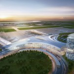 Rendering of the new Louis Armstrong International Airport.