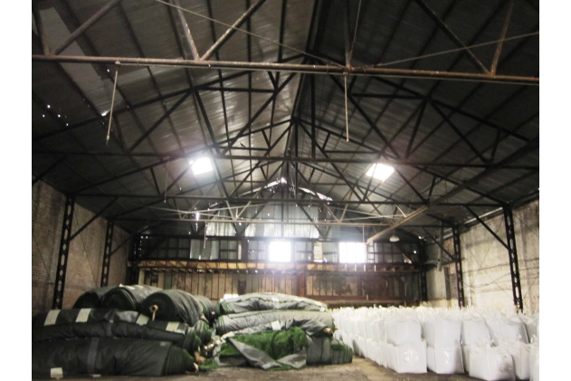 Interior of the current warehouse