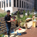 Photo from 2013 Park(ing) Day in NOLA via DDD.