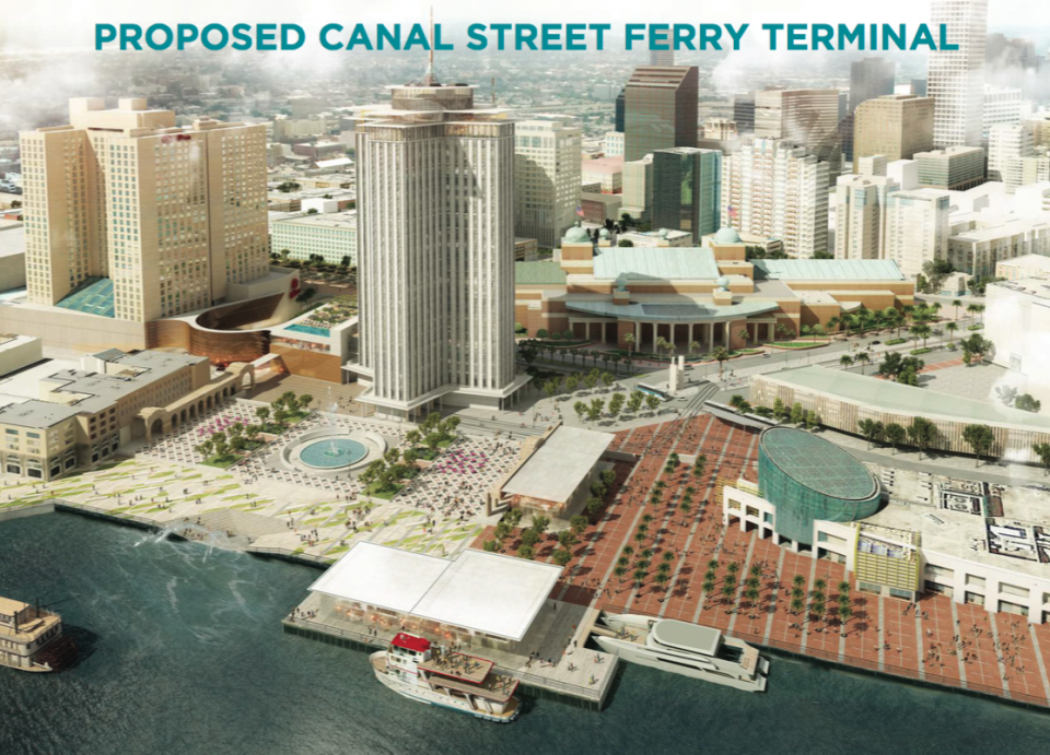 Rendering via City of New Orleans