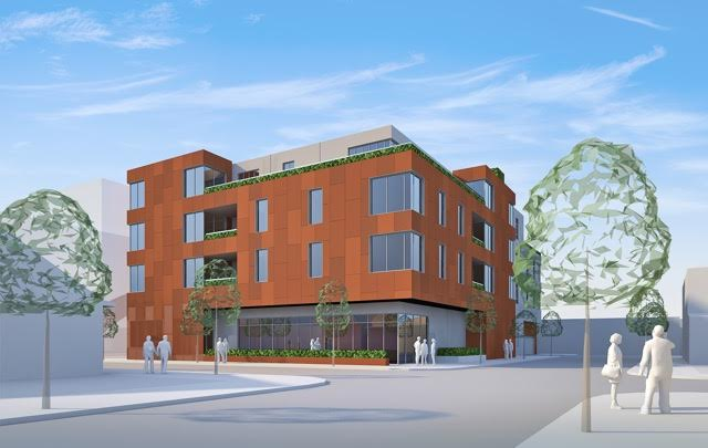Rendering of 3220 Chartres Street provided by MK Red Development.