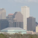 New Orleans skyline via Wikipedia.