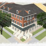 A rendering of the Faubourg Lafitte Development