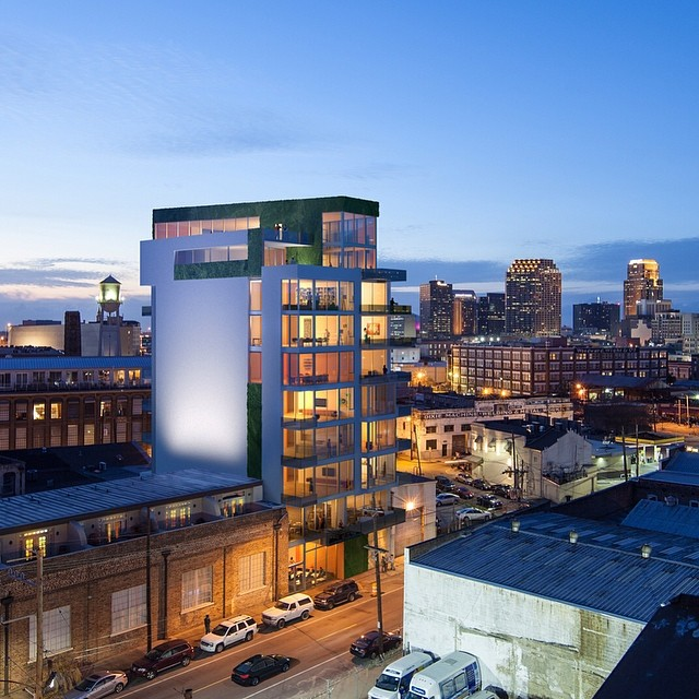 Bruno, Inc. is behind the Warehouse District development the Granaio Lofts, which is nearly ready to break ground.