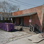 404 Andrew Higgins Blvd. currently sits vacant and abandoned.  Photo via Google Maps