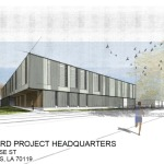 Rendering of the new project