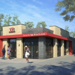 Rendering of the proposed CC's Coffee House at 2323 Canal St. via City of New Orleans