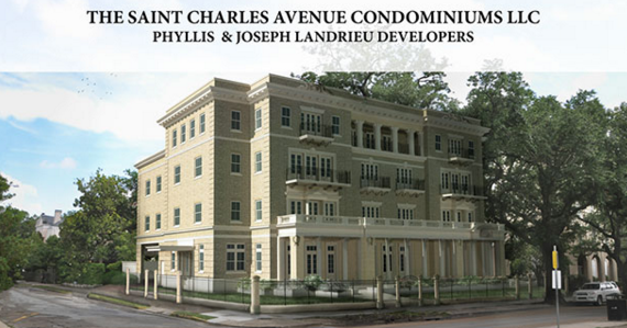 The Saint Charles Avenue Condominiums will open in Spring 2017.