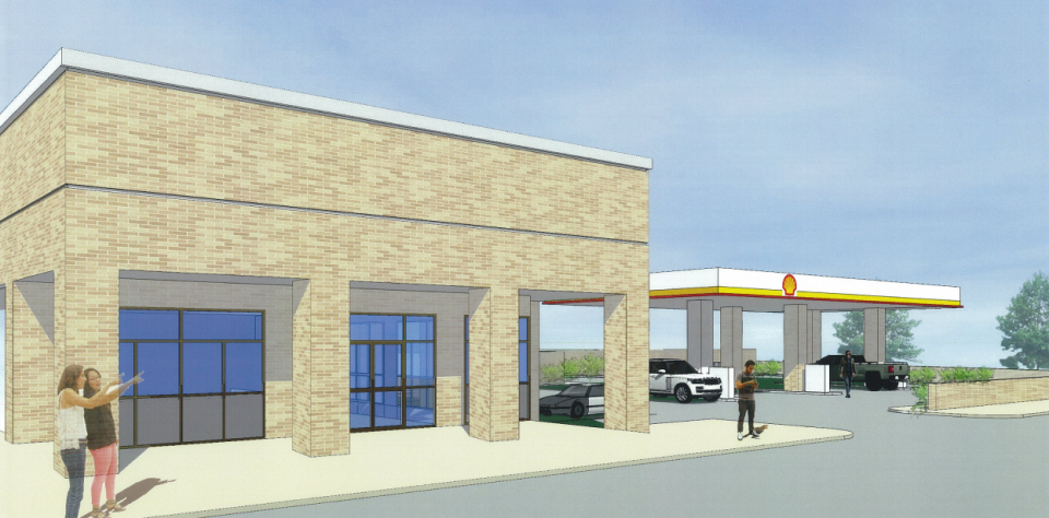 Rendering of the proposed building at 2501 St. Claude via City's OneStopShop.