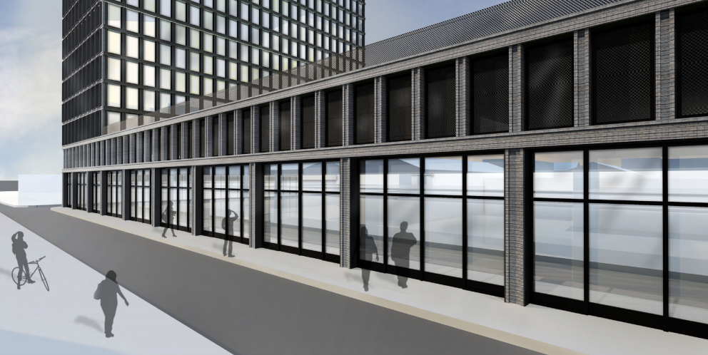 Rendering of The Standard by Morris Adjmi Architects via City of New Orleans