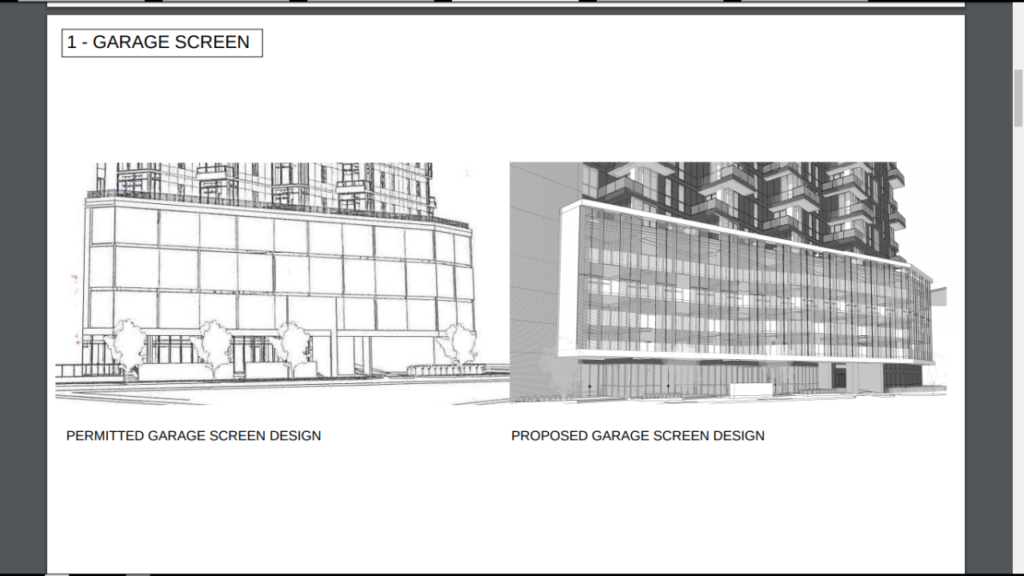 New plans for the Tracage Luxury Apartment Tower via City of New Orleans, by Trapolin Peer Architects.