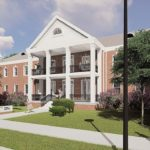 Renderings of The House that Hogs Built by Eskew + Dumez + Ripple, via Hogs for the Cause