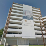 Image of the current Bristow Tower, to be converted in to the Alder Hotel. Image via Google Maps.